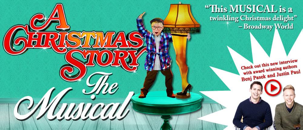 A Christmas Story Musical.A Christmas Story On Tour The Musical